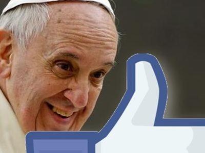 Papa Francisco se prepara para llegar a Facebook