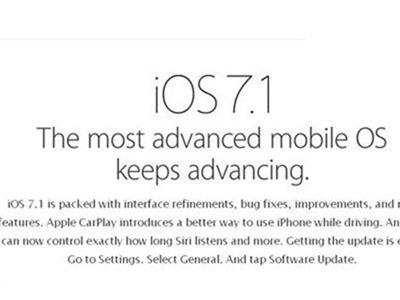 Apple deja de dar soporte a iOS7