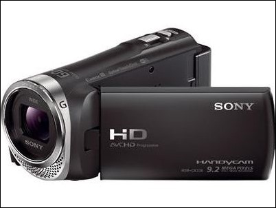 Sony-HDR-CX330