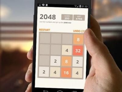 2048, el nuevo juego para móviles que arrasa