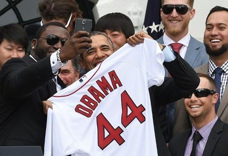 David Ortiz-Obama-selfie