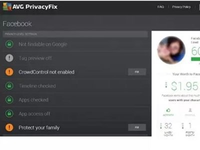 AVG Privacy Fix