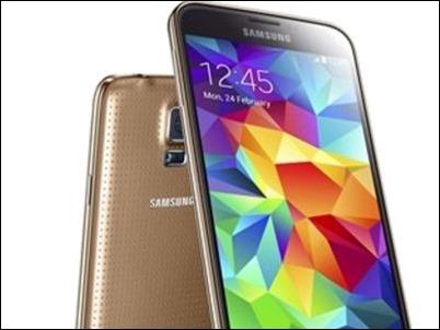 Samsung Galaxy S5 se actualiza para mejorar la cámara y el sensor
