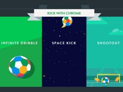 """""""Kick with Chrome"""", el nuevo experimento de Google para PCs y móviles"""