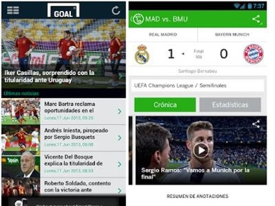 Las mejores apps para seguir el mundial en el iPhone, Android y Windows Phone