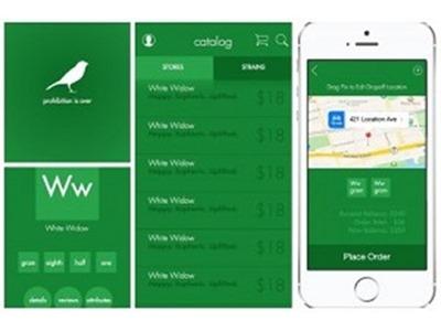 Lanzan app para comprar marihuana