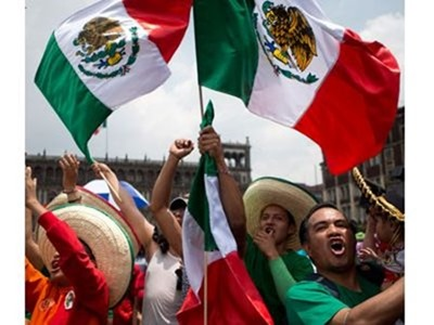 México derrotó a Brasil en particular duelo, tiene más seguidores en Twitter
