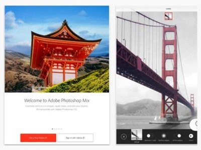 Adobe anuncia Line, Sketch y Photoshop Mix para iPad