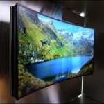 85 inch Bendable UHD TV