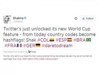Brasil 2014: ¿Como colocar en tus tuits las banderitas de las selecciones?