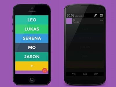 """""""Yo"""": La nueva aplicación de mensajería que permite mandar sólo una palabra"""