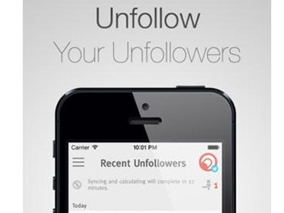 Limpia gratis Instagram y Twitter con JustUnfollow
