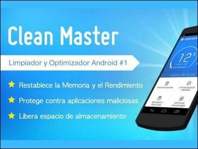 Optimiza la memoria de tu Android con Clean Master