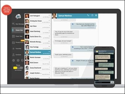 3 Aplicaciones para enviar o recibir SMS en tu ordenador