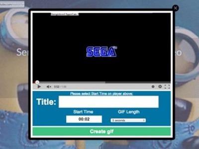 Convierte cualquier video de YouTube en una animación GIF