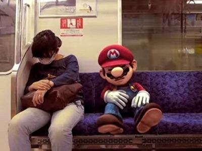 Increíble video: Mario recorre las calles de Tokio