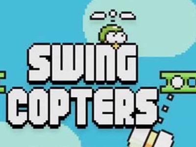 """Este jueves llega Swing Copters"""", el nuevo juego del creador de Flappy Bird"""