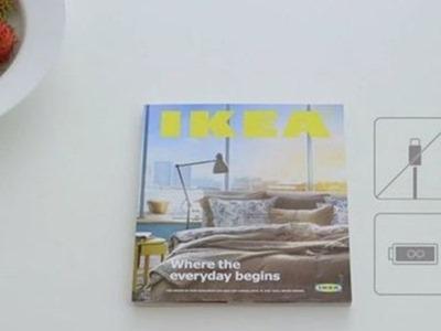 Ikea presenta su catálogo con una parodia a Apple