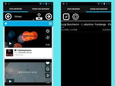 Como descargar videos de YouTube o Vimeo a tu móvil Android