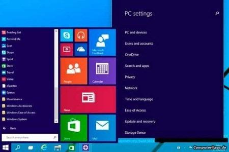 Filtran capturas del nuevo Windows 9