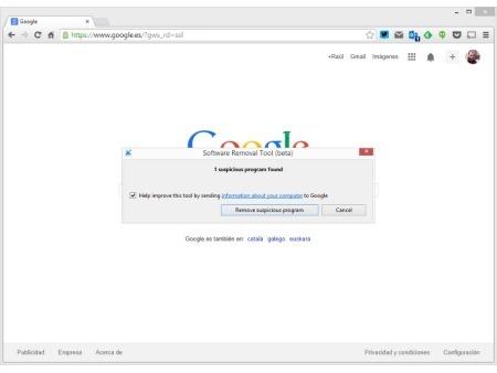 Software Removal Tool, la herramienta oficial de Google par limpiar Chrome de malware.