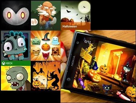 Apps de Windows Phone para celebrar Halloween