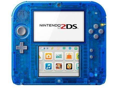 Nintendo lanzará nueva versión 2DS el 21 de noviembre