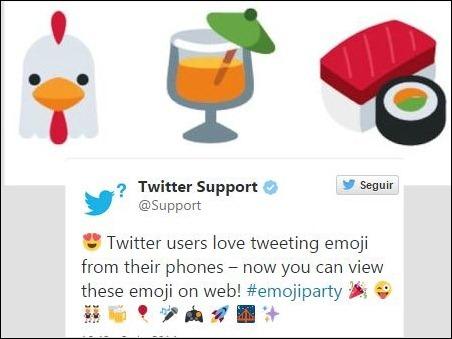 Twitter liberó 872 emoticones en código abierto