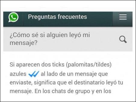 ¿Cómo evitar que alguien sepa si has el leído el mensaje (doble check azul) de WhatsApp?