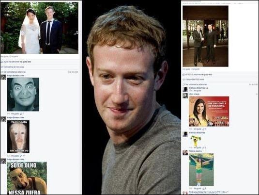 "Trolls brasileños ""atacan"" la cuenta de Mark Zuckerberg"
