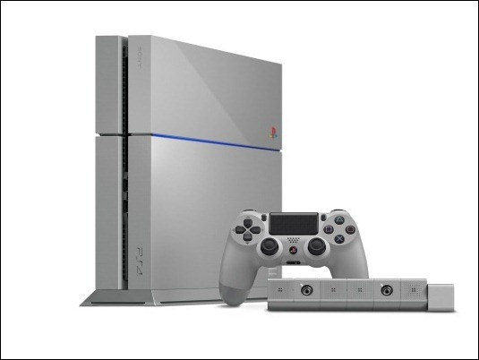 "Sony lanza PS4 ""Edición espacial 20 aniversario"""