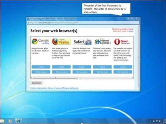 Fin de la prohibición: Windows ya puede volver a usar IE como navegador por defecto