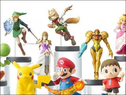Figuras coleccionables Amiibo de Nintendo han vendido 5,7 millones de unidades