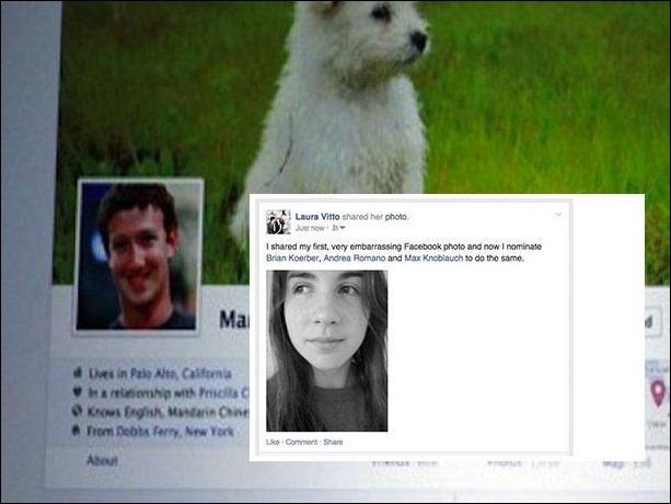 Compartir tu primera foto de perfil en Facebook se convirte en moda