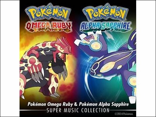 Llega a iTunes Pokémon Omega Ruby & Pokémon Alpha Sapphire: Super Music Collection