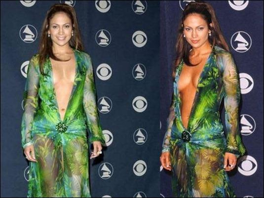 Vestido sexy y transparente de JLo provocó la creación de Google Images