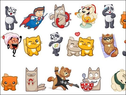 sticker-icq