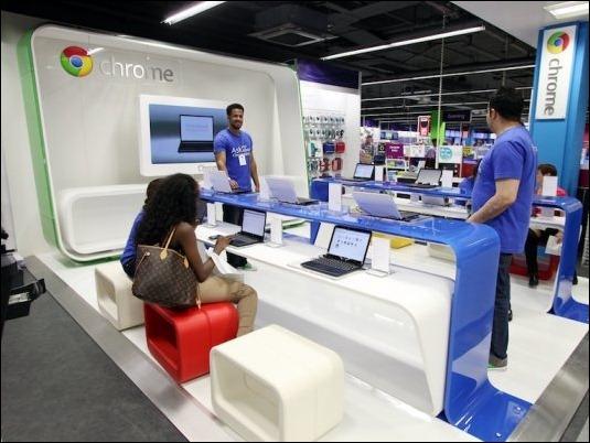 Abren la primera Google Shop en Londres