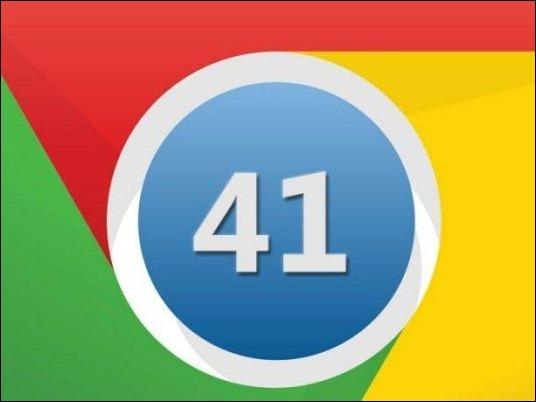 Google lanza nueva actualización de Chrome, la 41