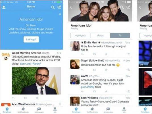 Twitter ensaya con un sistema para que interactúen los fanáticos de la televisión