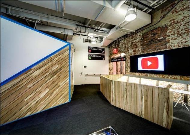 YouTube Space de Nueva York,   avanzados y exclusivos estudios para los mejores youtubers