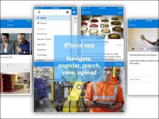 Office 365 Video aterriza en iPhone