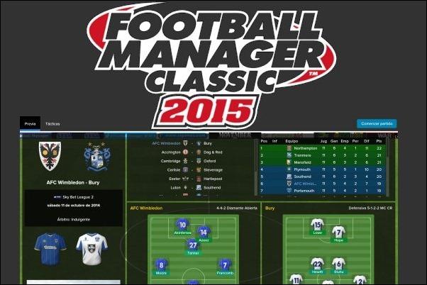 Football Manager Classic de Sega llega a las tabletas Android y al iPad
