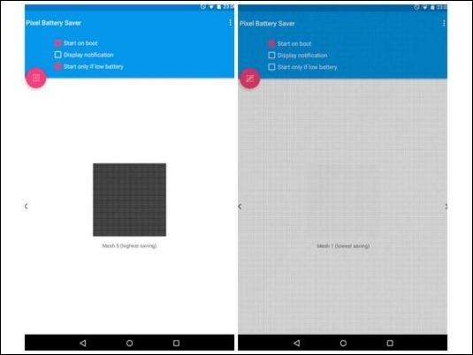 Mata píxeles y ahorra batería con Pixel Off