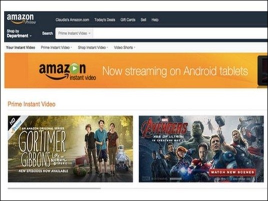 Amazon lanza su aplicación para tablets Android.