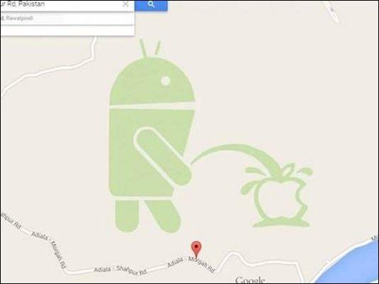 Google cierra su servicio de edición de mapas tras publicación de ataque contra Apple