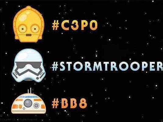 Twitter presenta emojis basados en personajes de Star Wars