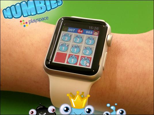 Numbies, el primer videojuego español para Apple Watch