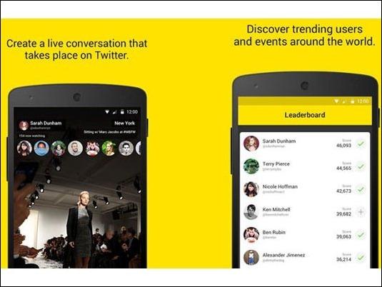 Meerkat llega a la Android Play Store