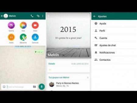 Llega nuevo diseño de WhatsApp a los Android